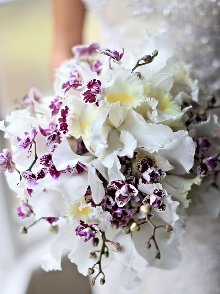 ideas to choose the beauty and elegance of white and purple wedding flowers 2 - Ideas to Choose the Beauty and Elegance of White and Purple Wedding Flowers