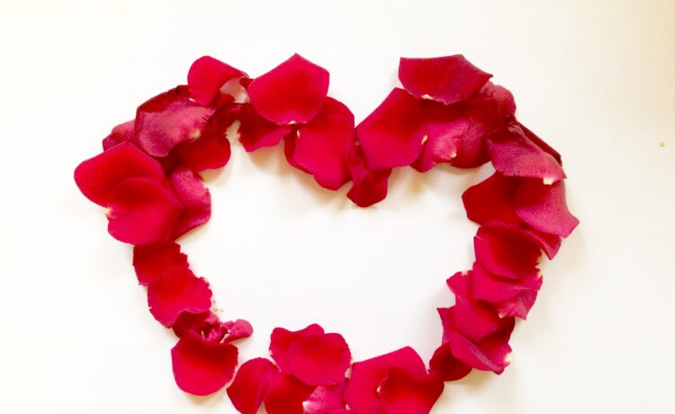 Express love with romantic flowers