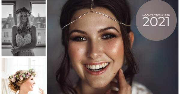 7 types of wedding hairstyles & the latest hairstyle trends for 2021