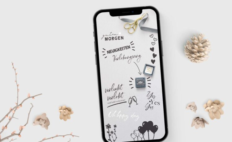 1632464453 28 Free wedding story stickers to download 750x460 - Free wedding story stickers to download