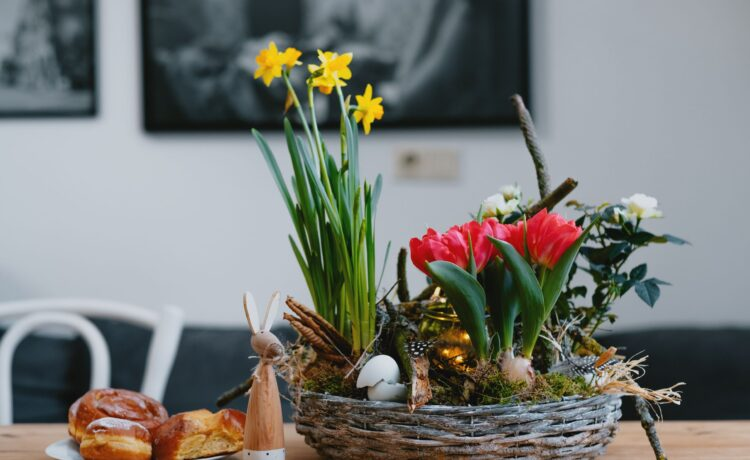 Easter - flowery tips and ideas