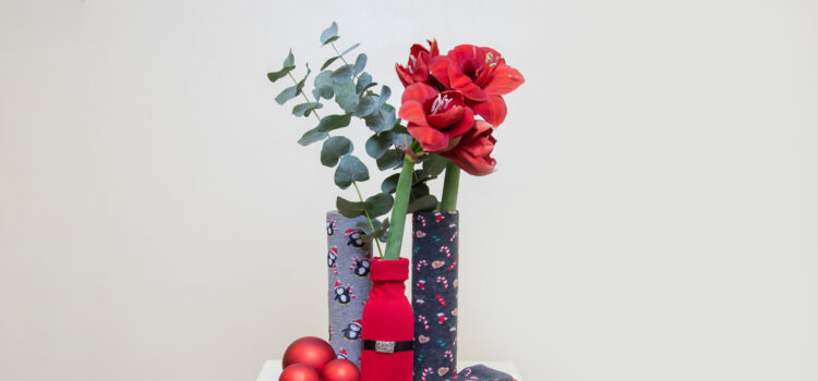 Christmas Gift Upcycling - Bloomy Blog | Flower tips and more
