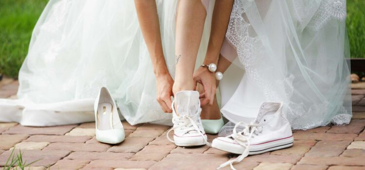 Must-have for your wedding day? 👠👞