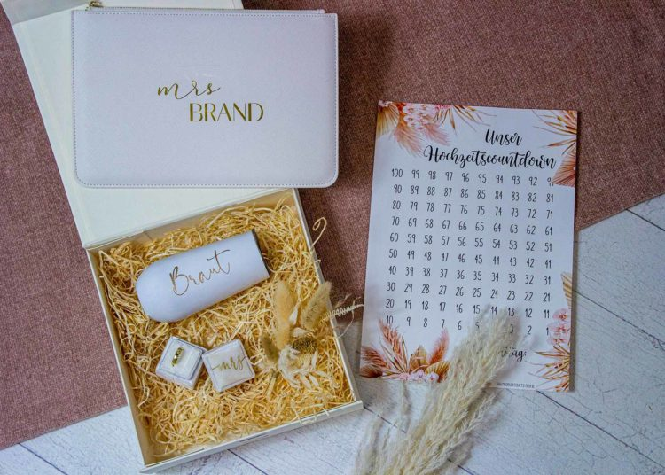 1632642499 383 Put together a gift box for the bride maid of - Put together a gift box for the bride, maid of honor & Co.