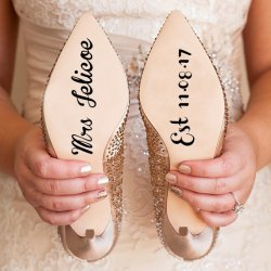 1632734086 502 Wedding shoe stickers The most beautiful stickers for wedding - Wedding shoe stickers   The most beautiful stickers for wedding shoes