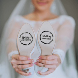 1632734086 716 Wedding shoe stickers The most beautiful stickers for wedding - Wedding shoe stickers   The most beautiful stickers for wedding shoes
