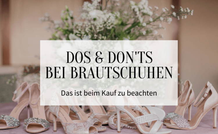 Dos and donts with bridal shoes You have to pay 750x460 - Dos and don'ts with bridal shoes: You have to pay attention to this