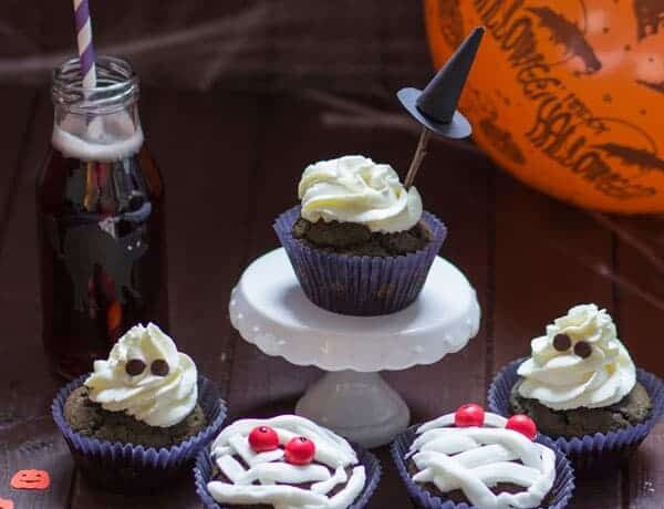 Sweet Halloween Cupcakes Muffin Recipe Easy Delicious 600x460 - Sweet Halloween Cupcakes & Muffin Recipe> Easy & Delicious
