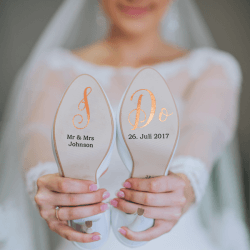Wedding shoe stickers The most beautiful stickers for wedding - Wedding shoe stickers   The most beautiful stickers for wedding shoes