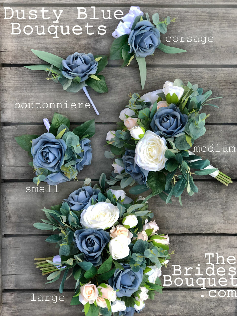 choose blue roses wedding bouquets for your wedding 1 - Choose Blue Roses Wedding Bouquets for Your Wedding