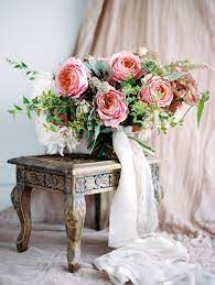 choose pink roses wedding bouquet for your wedding 2 - Choose Pink Roses Wedding Bouquet for Your Wedding