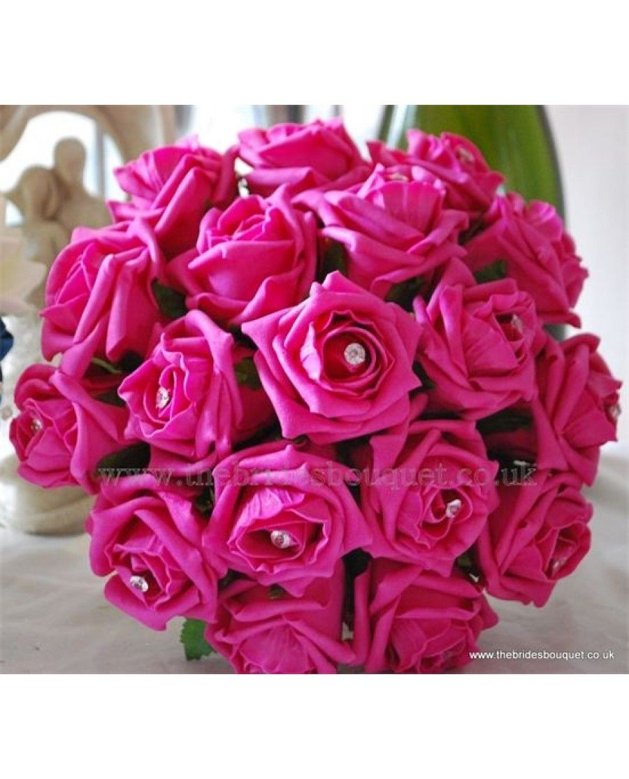 choose pink roses wedding bouquet for your wedding 3 - Choose Pink Roses Wedding Bouquet for Your Wedding