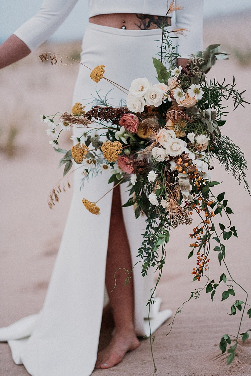 ideas for you to choose brown wedding bouquets 3 - Ideas for You to Choose Brown wedding bouquets