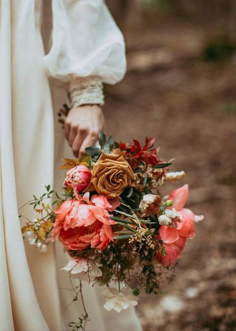ideas for you to choose brown wedding bouquets 4 - Ideas for You to Choose Brown wedding bouquets