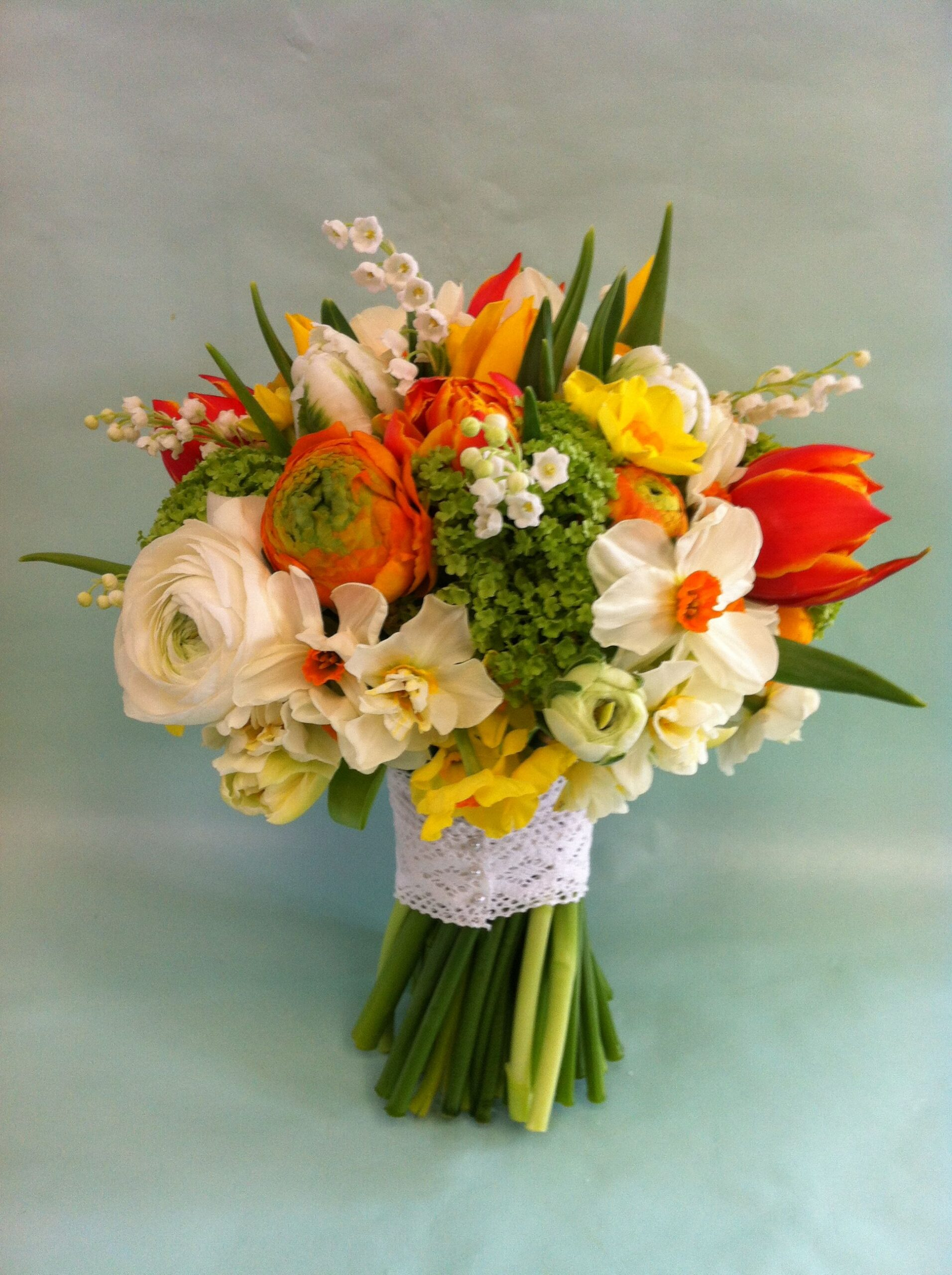 ideas for you to choose orange narcissus wedding flowers 2 scaled - Ideas for You to Choose Orange Narcissus Wedding Flowers