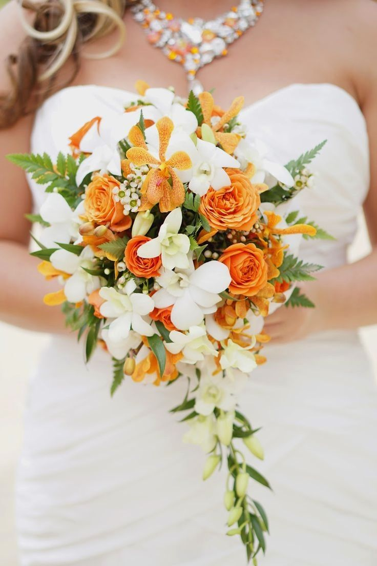 ideas for you to choose orange narcissus wedding flowers 3 - Ideas for You to Choose Orange Narcissus Wedding Flowers
