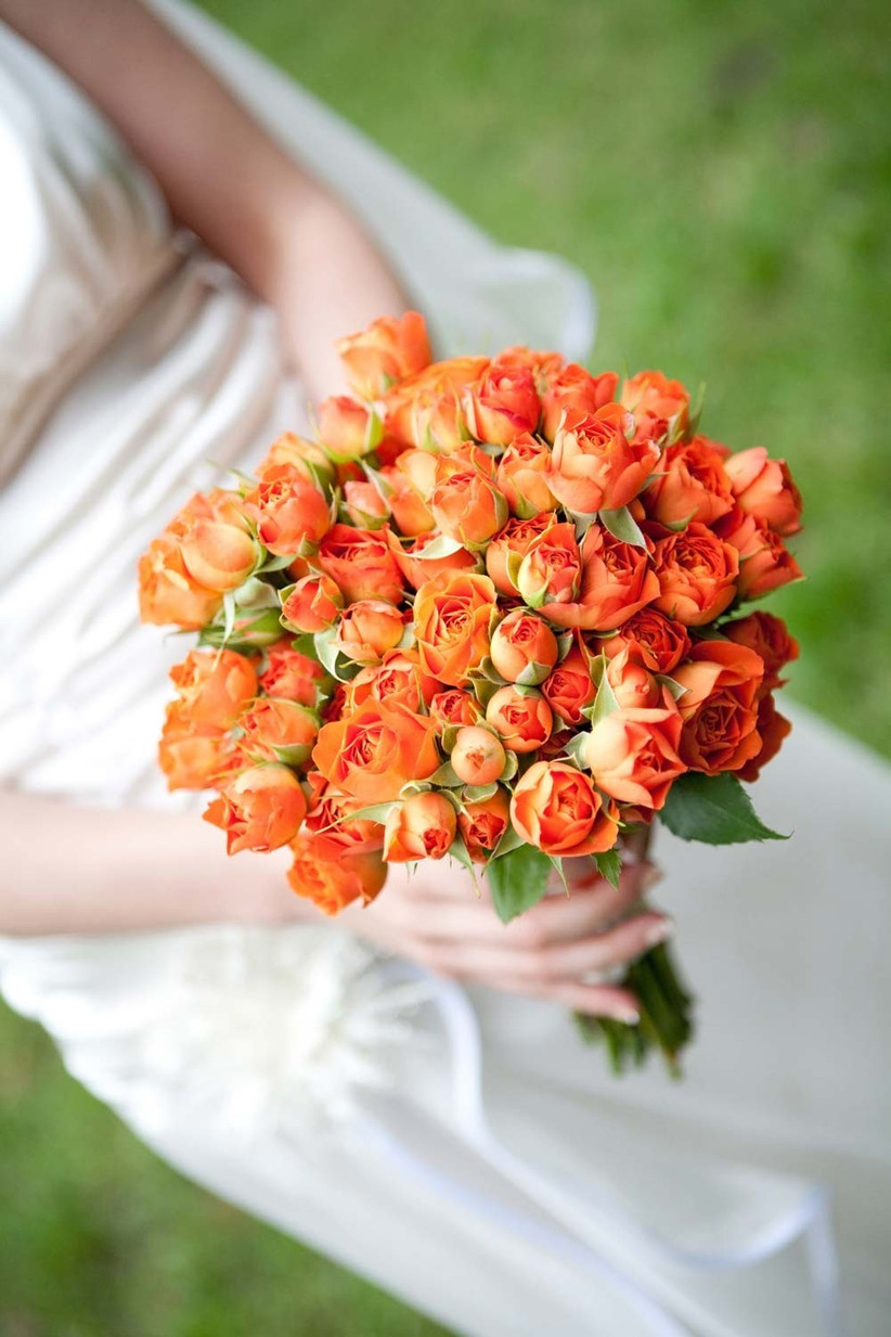 ideas for you to choose orange narcissus wedding flowers 9 - Ideas for You to Choose Orange Narcissus Wedding Flowers