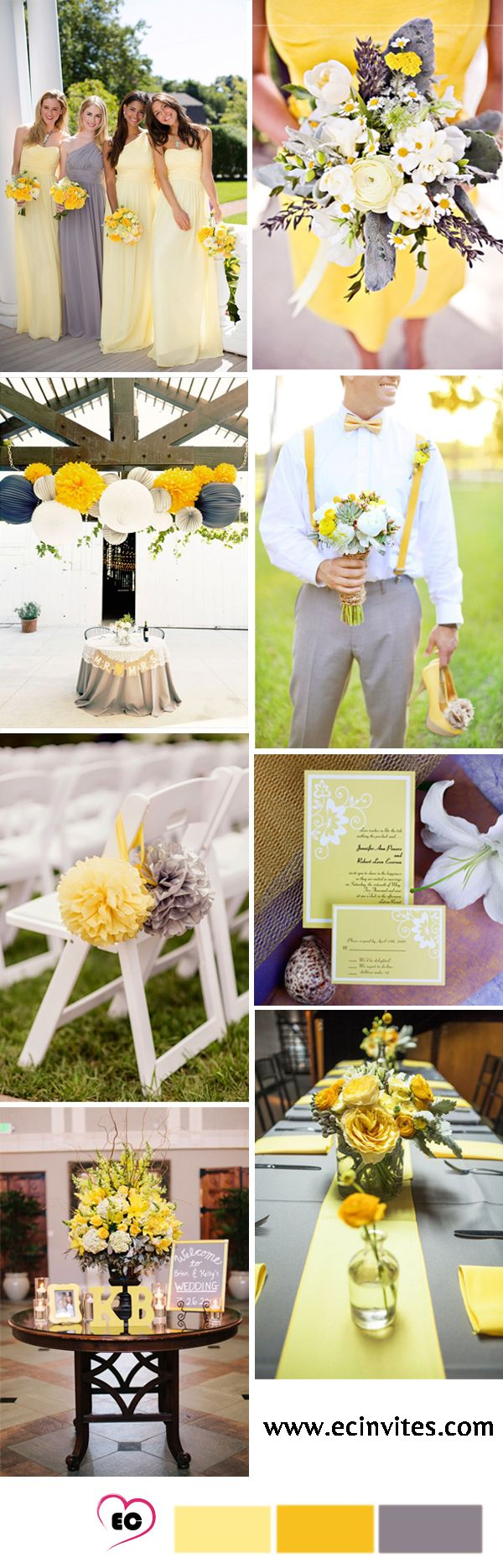 ideas to choose yellowish wedding bouquets for you 3 - Ideas to Choose Yellowish Wedding Bouquets for You
