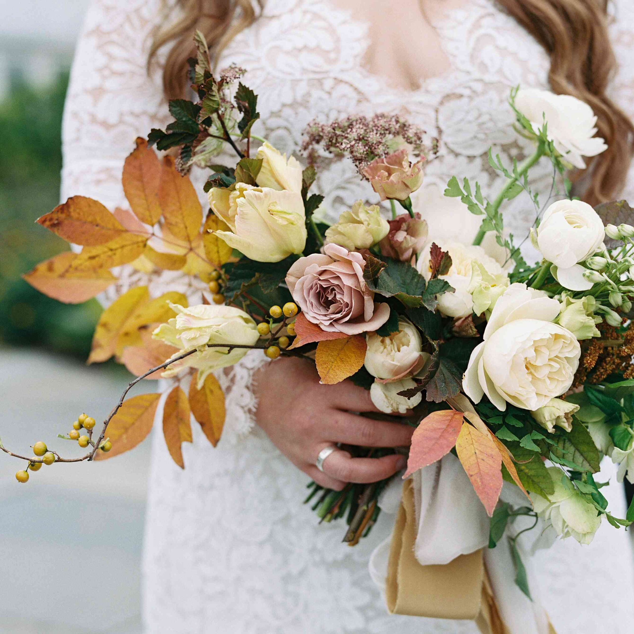 silk wedding bouquets to choose for the classy bridal 5 scaled - Silk Wedding Bouquets to Choose for The Classy Bridal