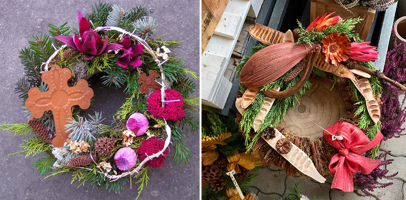 1633428065 305 All Saints Day arrangements for the grave 12 beautiful - All Saints' Day arrangements for the grave   12 beautiful and elegant ideas