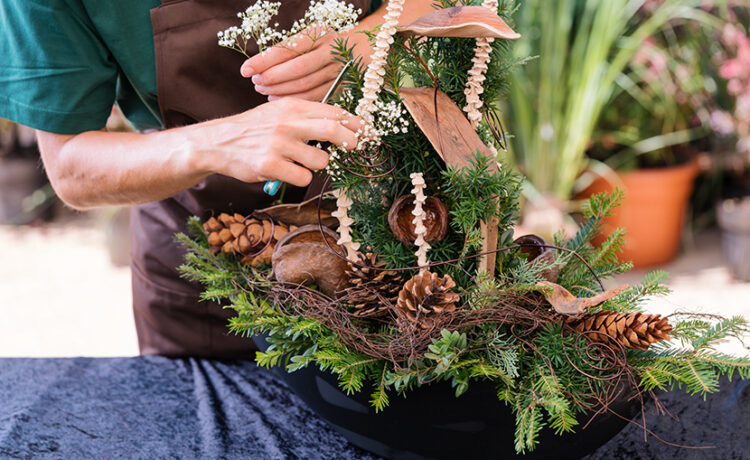 All Saints' Day arrangements for the grave   12 beautiful and elegant ideas