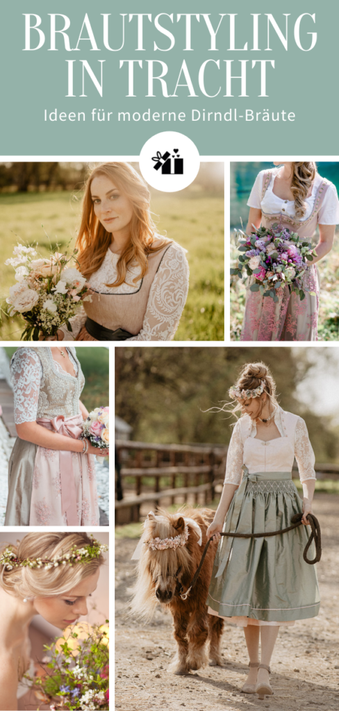 1633428261 249 Bridal styling in traditional costume ideas for modern dirndl - Bridal styling in traditional costume - ideas for modern dirndl brides